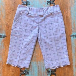 ADIDAS woman's golf shorts size 2.